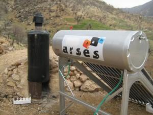 آبگرمکنهای خورشیدی به جای آبگرمکنهای هیزمی